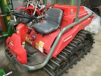 Yanmar 18hp compact crawler tractor on rubber tracks,Cat 1, 3 point linkage,PTO