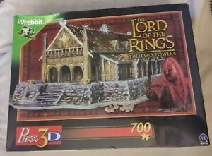 Wrebbit Puzz 3D Puzzle The Lord of the Rings Golden Hall Edoras NEW Sealed