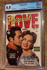 Personal Love #25 1954 Frank Frazetta CGC 4.0 Terry Moore 1st Bettie Page GGA
