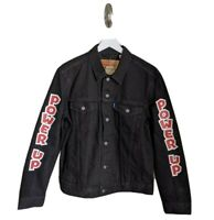 Levi's x Super Mario Power Up Black Denim Jacket Size XL - New With Tags!!