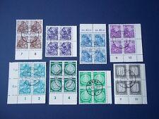 German Democratic Republic, block of 4 stamps (8). Used.