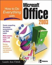 How to Do Everything with Microsoft Office 2003 (How to Do Everything)-ExLibrary
