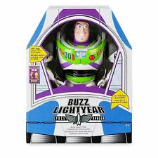 Disney Talking Buzz Lightyear Interactive Toy Story Deluxe Action Figure Toy