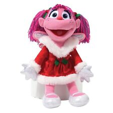 """Abby Cadabby Doll 12"""" Tall From Sesame Street Features Red Dress, Shoes Gloves"""