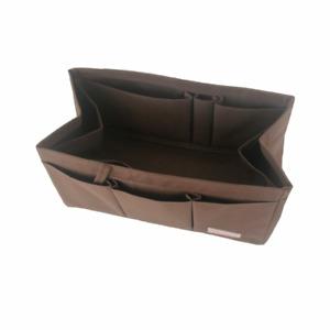 Waterproof Bag in Bag Purse Insert Organiser For SPEEDY 30 35 40, BROWN