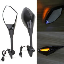Led Turn Signals Rearview Mirror for Honda CBR600RR CBR1000RR 2004-2008 05 06 07