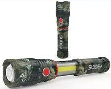 Nebo SLYDE Plus + Camo 400 Lumen Flashlight / Work Light / Lantern #6618