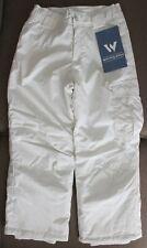 White Sierra Girls Size XS (6/6X) Cruiser Insulated Pants Milky White Snowpants