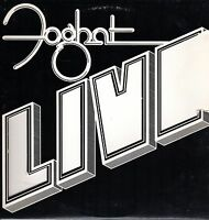 Foghat Vinyl LP Bearsville Records 1977 BRK-6971, Live ~ VG+