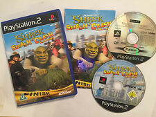 SONY PLAYSTATION 2 PS2 Race Juego SHREK SMASH N 'CRASH RACING COMPLETO + #2 PAL