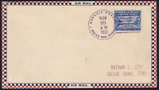 1931 Panama Bocas Del Toro to Canal Zone First Flight Cover