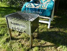 Profi Mangal Grill Schaschlik 43x27x40cm 2mm Stahl Zerlegbar Platzsparend Мангал