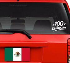 Car Decals. Wall Decal. Laptop Decal... México. Al 100 x Culiacán.
