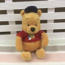 Disney Winnie The Pooh London Pooh Beanie Soft Toy Plush