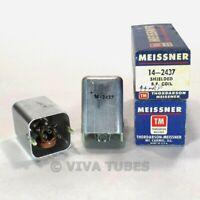 NOS NIB Vintage Lot of 2 Meissner 14-2437 Shielded RF Coils Transformers