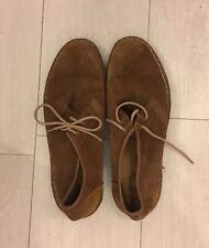 Clark's Suede Tan Men's Shoes (UK 9.5)
