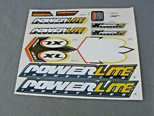 NOS POWERLITE BMX  PRO XL 4130 STICKER SET