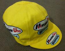 Retro Mercatone Uno Bianchi Pro Cycling Team cap fast shipping