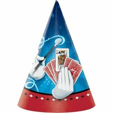 Magic Party Magician Illusion Trick Kids Birthday Party Favor Paper Cone Hats