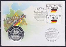 BRD Numisbrief Dt. Einheit mit Medaille Weizäcker 1990