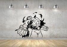 Wall Sticker Mural Decal Vinyl Decor Incredible Hulk Superhero Marvel Comics