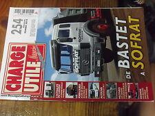 6µ? Revue Charge Utile n°254 CASE Renault FR1 BastetGamme Renault T