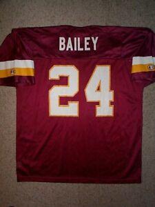 IRREGULAR Washington Redskins CHAMP BAILEY nfl Jersey Adult MENS/MEN'S (L-LARGE)