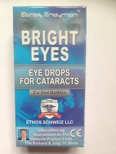 Ethos Bright Eyes NAC Eye Drops for Cataracts 1 Box 2 x 5ml Bottles 10ml