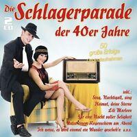 DIE SCHLAGERPARADE DER 40ER JAHRE - RUDI SCHURICKE/HORST WINTER/+  2 CD NEU