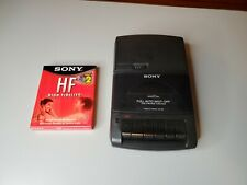 Sony Cassette-Corder Recorder TCM-929 Portable Tape Recorder Player w/Sony Tapes