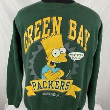 Unisex Funny Bart Simpson customSwagg Bart Simpson Just do it Later White Crewneck Sweatshirt