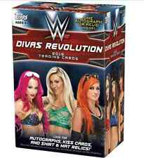 2016 TOPPS WWE DIVAS REVOLUTION WALMART BLASTER BOX AUTO/KISS/RELIC SEALED