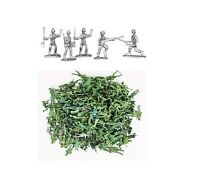 300 PC Green Plastic Toy Soldiers for Army Military War Games Soldier Men