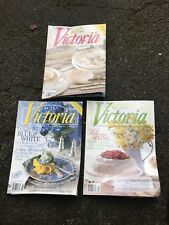 VICTORIA MAGAZINE-3 ISSUES--March 2010, Jan 2011, MAY 2011