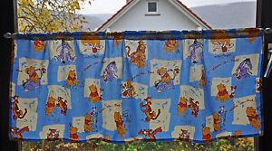 -51- Kinderzimmer Scheibengardine Winnie Pooh  Gardine Gardinen  Schals