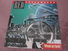 Reo Speedwagon 1984 Wheels Are Turnin' 12x12 Promo 2-Sided Cover Flat Poster