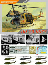 DRAGON 3538 1/35 UH-1D HUEY Helicopter w/4 Crew