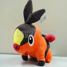 "12"" Pokemon Tepig Stuffed Animal ポカブ Pokabu Plush SOFE Toy US ship"