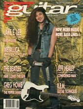 1989 June Guitar For The Practicing Musician - Magazine w/ Metallica Poster