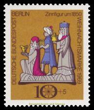 EBS West Berlin 1969 Christmas - 3 Wise Men Pewter Figures Michel 352 MNH**