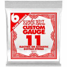 Saiten E-Gitarre Ernie Ball 011 Single Slinky String Set Gitarrensaiten E- Gitar