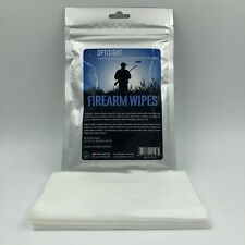 OPTISIGHT FIREARM WIPES (30PK) | CLEANING | SHOOTING | RIFLE | PISTOL | GUN