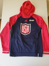 Adidas 2016 Hockey World Cup USA Hoodie Men Size M