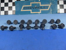 NOS 56 66 67 69 70 71 72 Chevy & GMC Pick Up Body-Fender Mounting Bolts (C)