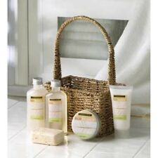 Eco Balance Bath Spa Collection Kit Woven Basket Mothers Da Gift Mom Friend