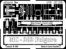 Eduard Zoom ss138 1/72 Macchi C. 202 Hasegawa