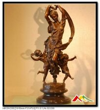 "CARRIER BELLEUSE Bronze statue, ""FESTIVAL BOUND"""