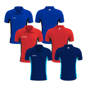 Men's Polo Shirts Short Sleeves Sports Contrast 100% Polyester