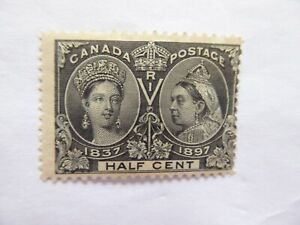 Canada 1897 half cent m/mint