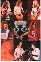 The Eagles Band Collage Poster Print